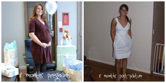 I lost almost 50 lbs thanks to Weight Watchers, breastfeeding and running.